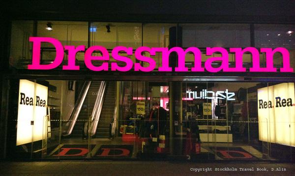 Dressman is popular among Swedish men because of its moderate price