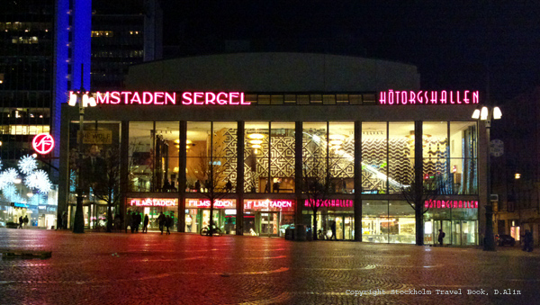 Filmstaden Sergel, cinema in the center of Stockholm