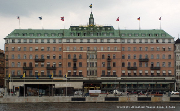 Grand Hotel, 5-star hotel in Stockholm