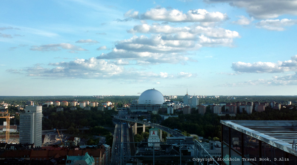 View of Globen Arena