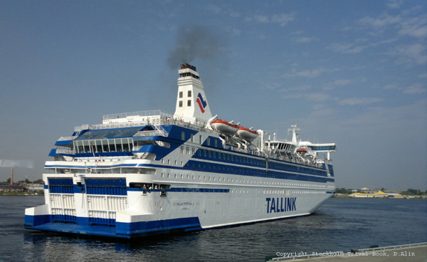 Tallink ferry travel to Stockholm