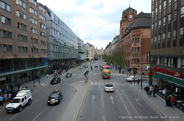 Vasagatan in central Stockholm